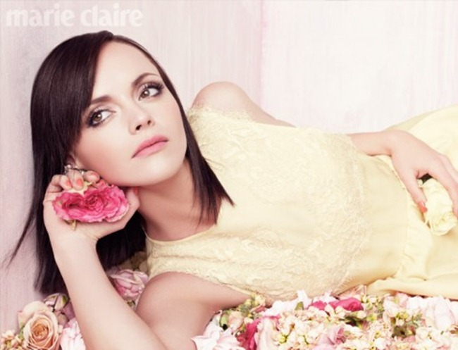 FASHION PHOTOGRAPHY- Christina Ricci for Marie Claire UK, April 2012. www.imageamplified.com, Image Amplified1