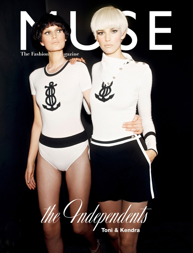 MUSE MAGAZINE- Kendra Spears & Toni Garrn in Lady Doll by Mariano Vivanco. Beth Fenton, Spring 2012, www.imageamplified.com, Image Amplified9