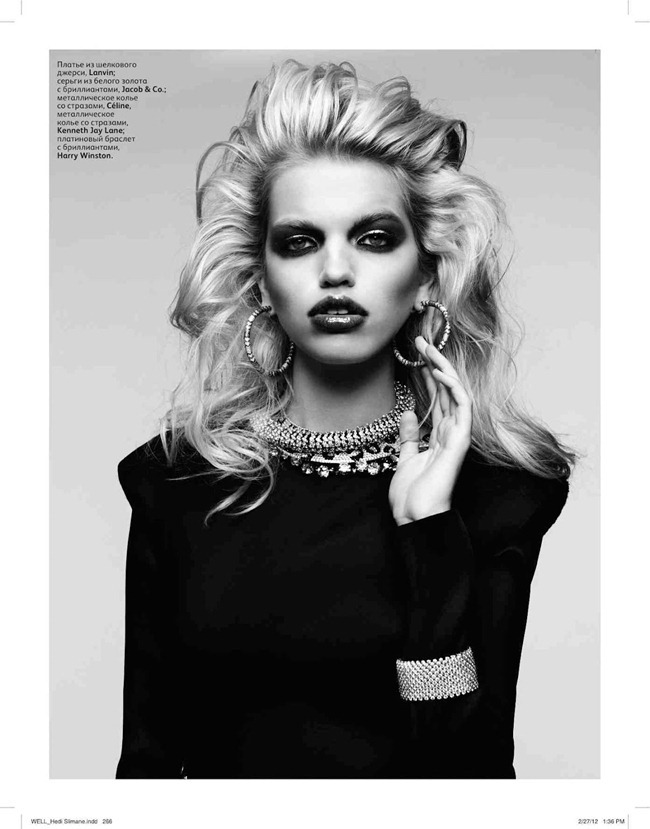 VOGUE RUSSIA Daphne Groenveld by Hedi Slimane. Sarah Richardson, April 2012, www.imageamplified.com, Image Amplified (9)