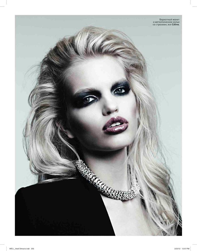 VOGUE RUSSIA Daphne Groenveld by Hedi Slimane. Sarah Richardson, April 2012, www.imageamplified.com, Image Amplified (12)