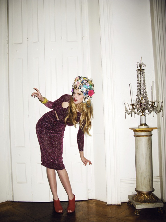 HAUTE MUSE Valerie van der Graaf in Miss Haute by Kate Bellm. Kimi O'Neill, Spring 2012, www.imageampilfied.com, Image Amplified (5)