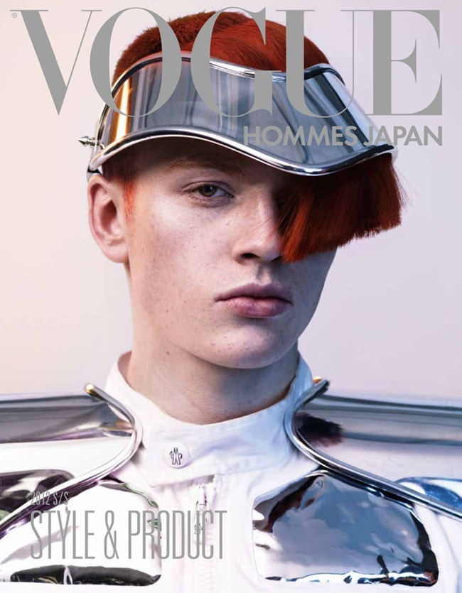 VOGUE HOMMES JAPAN- Generation to Generation by Josh Olins. Shun Watanabe, Spring 2012, www.imageamplified.com, Image Amplified1