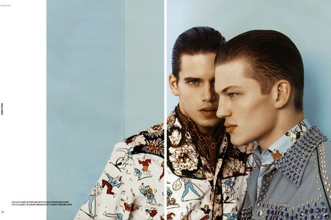 DSECTION MAGAZINE- Sebastian Sauve & Mark Cox in The Lovers by Aline & Jacqueline Tappia. Spring 2012, www.imageamplified.com, Image Amplified6
