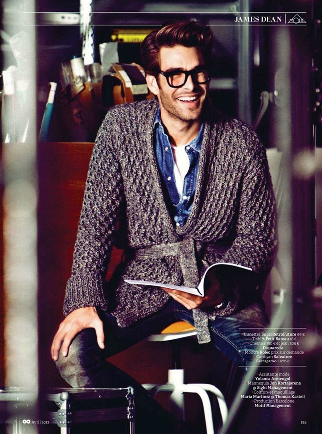 GQ FRANCE Jon Kortajarena in La Legende de Jimmy by Sergi Pons. Miguel Arnau, April 2012, www.imageamplified.com, Image Amplified (2)