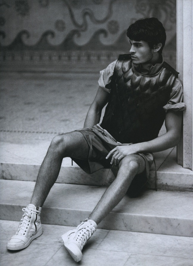 NUMERO HOMME Baptiste Giabiconi by Karl Lagerfeld. Spring 2012, www.imageamplified.com, Image Ampilfied (5)