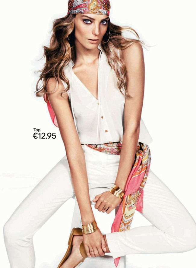 CAMPAIGN Daria Werbowy for H&M Spring 2012. www.imageamplified.com, Image Amplified (5)