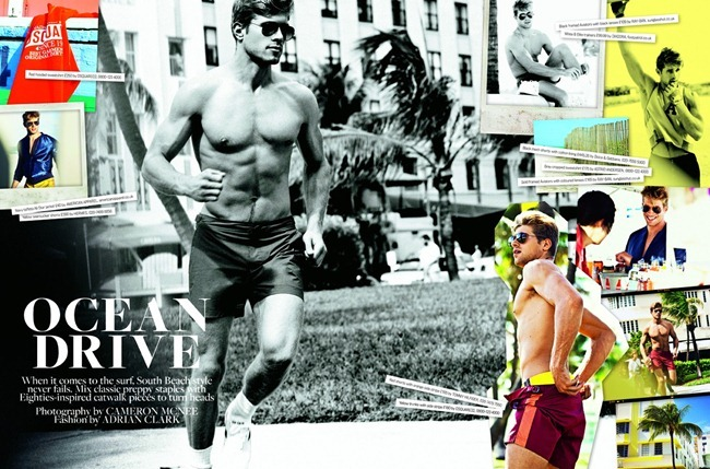SHORTLIST MODE Kris Kranz in Ocean Drive by Cameron McNee. Adrian Clark, www.imageamplified.com, Image Amplified (1)