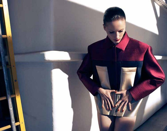 HARPER'S BAZAAR UK- Ieva Laguna in Bright Star by Camilla Akrans. Franck Benhamou, May 2012, www.imageamplified.com, Image Amplified (2)