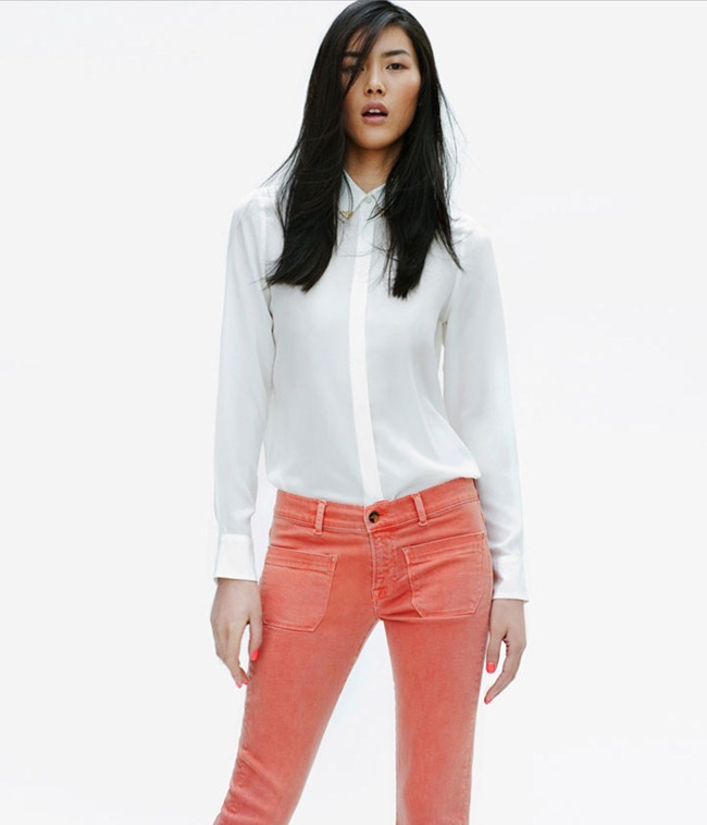 LOOKBOOK Liu Wen for Zara April 2012. www.imageamplified.com, Image Amplified (8)
