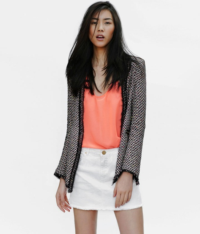 LOOKBOOK Liu Wen for Zara April 2012. www.imageamplified.com, Image Amplified (11)