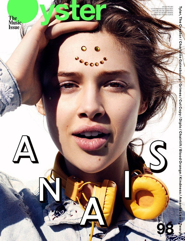 OYSTER MAGAZINE Anais Pouliot by Benny Horne. Stevie Dance, www.imageampilfied.com, Image Amplified (9)