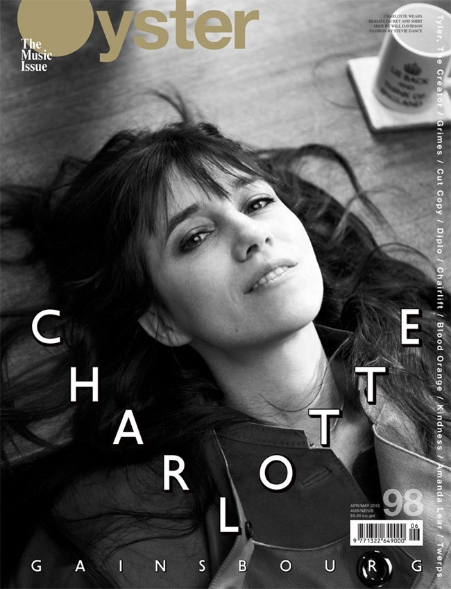OYSTER MAGAZINE Charlotte Gainsbourg by Will Davidson. Stevie Dance, www.imageamplified.com, Image Amplified (6)