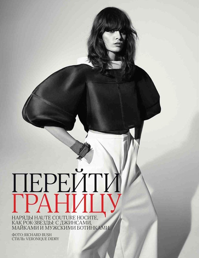 VOGUE RUSSIA Melissa Stasiuk by Richard Bush. Veronique Didry, April 2012, www.imageamplified.com, Image Amplified (2)