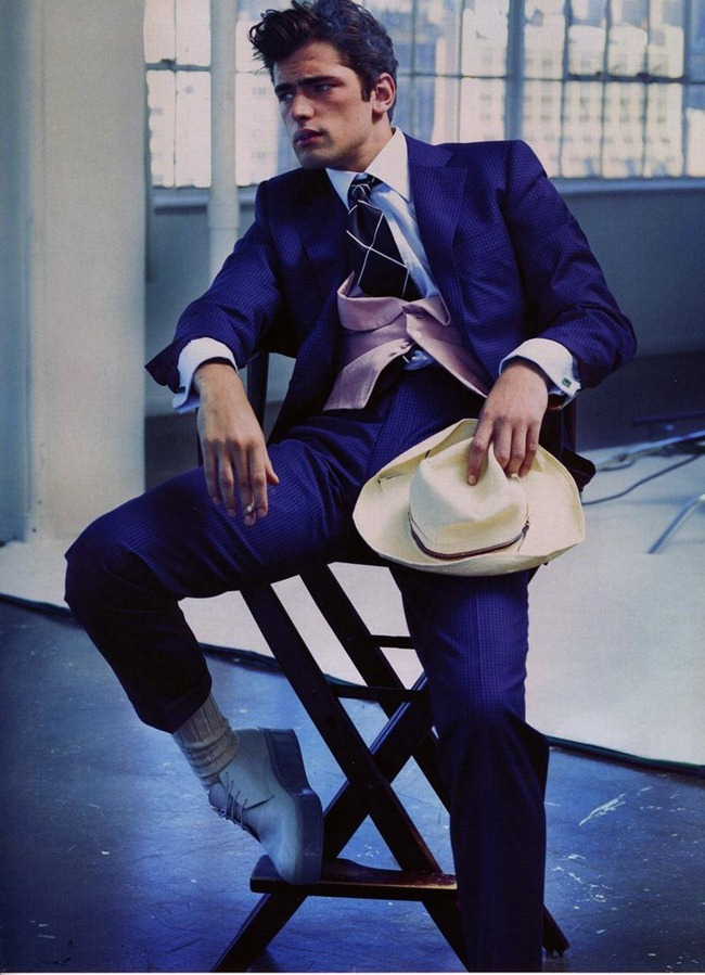 GQ GERMANY- Sean O'Pry in Zeitreise by Alexei Hay. Summer 2012, www.imageamplified.com, Image Amplified (1)