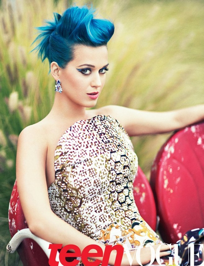 FASHION PHOTOGRAPHY- Katy Perry for Teen Vogue, May 2012, www.imageamplified.com, Image Amplified