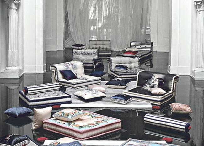 WE ♥ JEAN PAUL GAULTIER Jean Paul Gaultier for Roche Bobois 2010. www.imageamplified.com, Image Amplified (2)