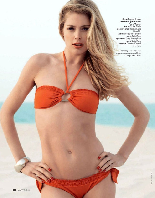 ELLE RUSSIA Doutzen Kroes by Thiemo Sander. Claire Sibille, June 2012, www.imageamplified.com, Image Amplified (1)