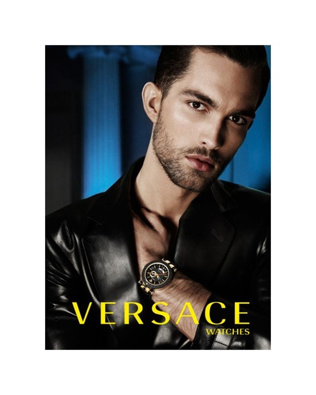 CAMPAIGN Tobias Sorensen for Versace Watches 2012. www.imageamplified.com, Image Amplified (2)