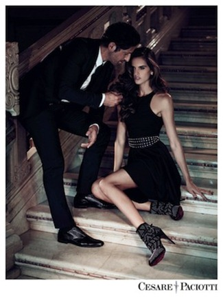 CAMPAIGN Izabel Goulart & Tony Ward for Cesare Paciotti Fall 2012 by Stefano Galuzzi. www.imageamplified.com, Image Amplified (5)