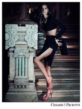 CAMPAIGN Izabel Goulart & Tony Ward for Cesare Paciotti Fall 2012 by Stefano Galuzzi. www.imageamplified.com, Image Amplified (4)