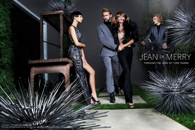 CAMPAIGN tom Bull, Chris Lucas, Emily & Annelise for Jean de Merry 2012 by Tony Duran. www.imageamplified.com, Image Amplified (1)