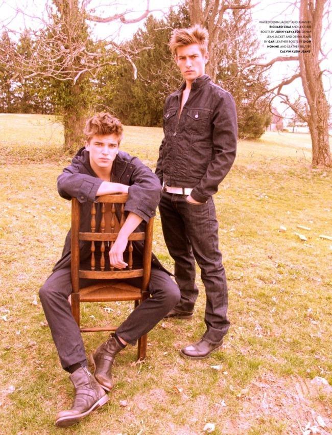 FLAUNT MAGAZINE Arthur Sales, River viiperi & Justin Hopwood by Rachel Bank. www.imageamplified.com, Image Amplified (7)