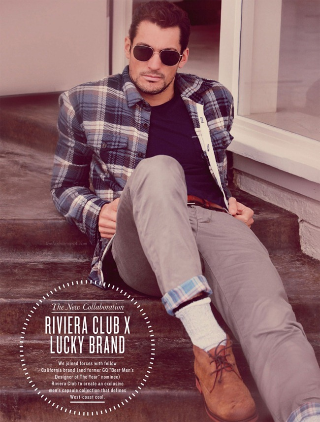 LOOKBOOK David Gandy & Magdalena Frackowiak for Lucky Brand Fall 2012 by Alasdair McLellan. www.imageamplified.com, Image Amplified (4)