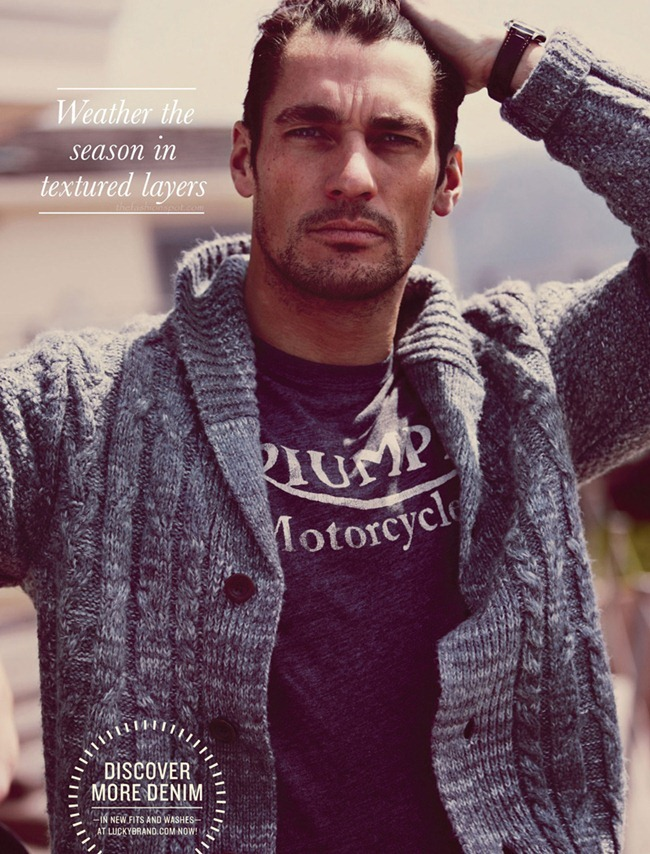 LOOKBOOK David Gandy & Magdalena Frackowiak for Lucky Brand Fall 2012 by Alasdair McLellan. www.imageamplified.com, Image Amplified (12)