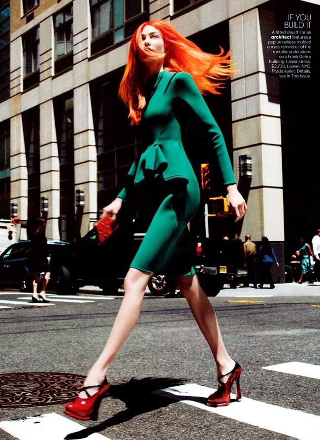 VOGUE MAGAZINE Karlie Kloss in Her Brilliant Career by David Sims. Grace Coddington, September 2012, www.imageamplified.com, Image Amplified (7)