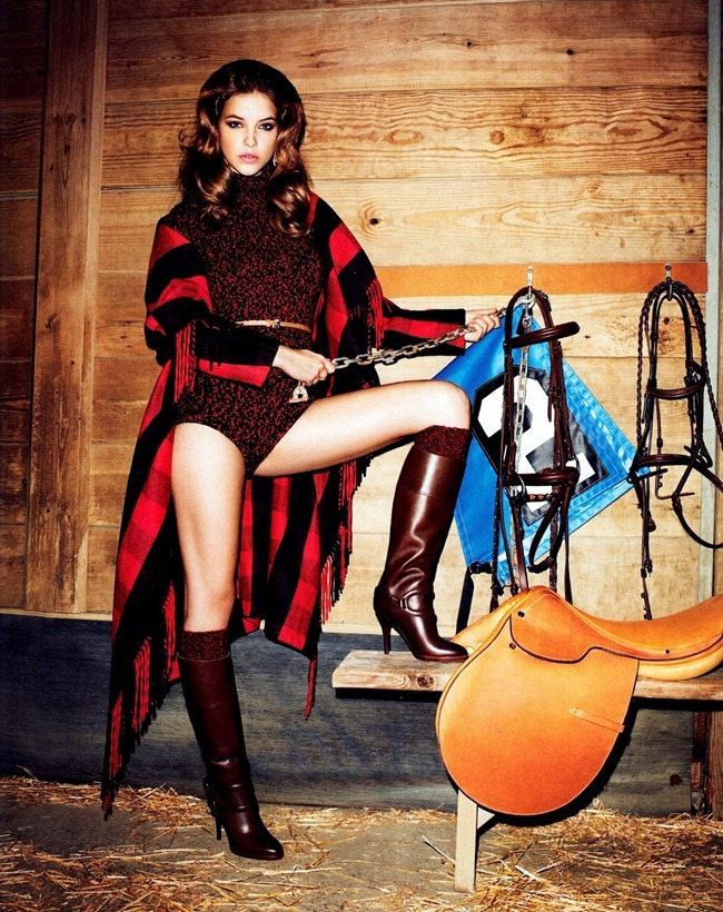HARPER'S BAZAAR MAGAZINE Barbara Palvin in Clothes Horse by Terry Richardson. Leslie Lessin, September 2012, www.imageamplified.com, Image Amplified (3)