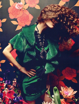 VOGUE CHINA Femme Fatale by Inez & Vinoodh. Nicoletta Santoro, September 2012, www.imageamplified.com, Image Amplified (15)