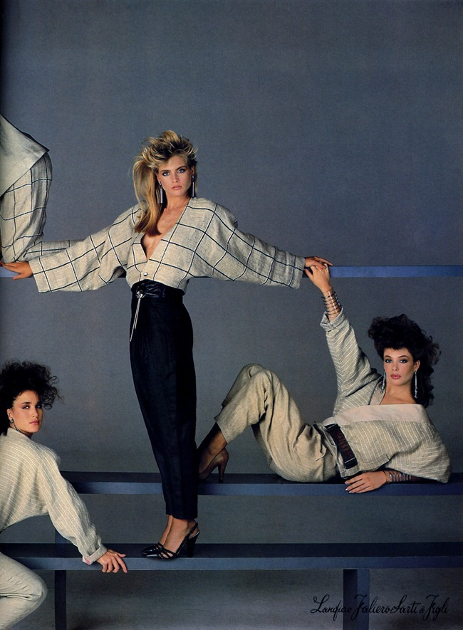 WE ♥ VERSACE- Janice Dickinson for Versace Spring 1984 by Richard Avedon. www.imageamplified.com, Image Amplified6
