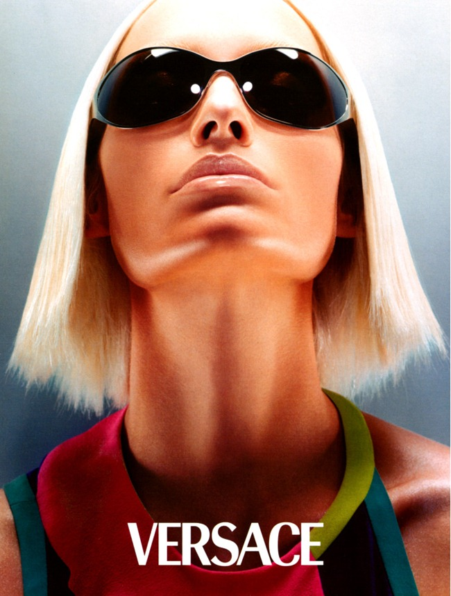 WE ♥ VERSACE- Amber Valletta for Versace Spring 2003 by Steven Meisel. www.imageamplified.com, Image Amplified5