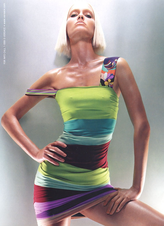 WE ♥ VERSACE- Amber Valletta for Versace Spring 2003 by Steven Meisel. www.imageamplified.com, Image Amplified0
