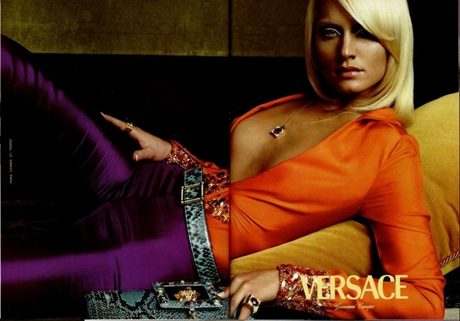 WE ♥ VERSACE- Amber Valletta for Versace Spring 2000 by Steven Meisel. www.imageamplified.com, Image Amplified5