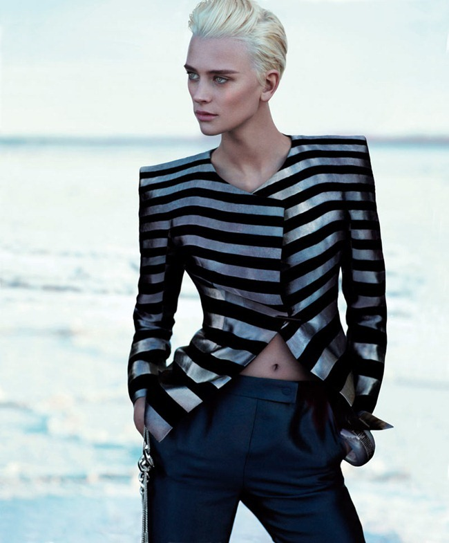 CAMPAIGN Milou van Groesen for Giorgio Armani Spring 2012 by Mert & Marcus. www.imageamplified.com, Image Amplified (2)