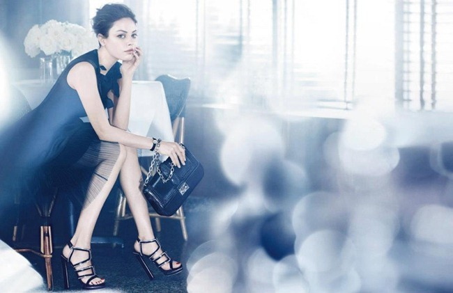 CAMPAIGN- Mila Kunis for Miss Dior Handbags Spring 2012 by Mikael Jansson. www.imageamplified.com, Image Amplified5