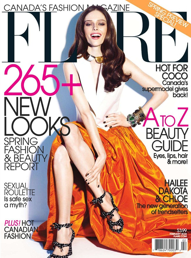 FLARE MAGAZINE- Coco Rocha in Candid Coco by Chris Nicholls. February 2012, www.imageamplified.com, Image Amplified5