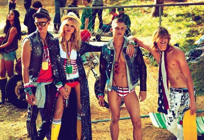 CAMPAIGN- Natasha Poly, Dimitry Tanner, Paolo Anchisi, Matt Woodhouse & Ton Heukels for DSquared2 by Mert & Marcus. www.imageamplified.com, Image Amplified0