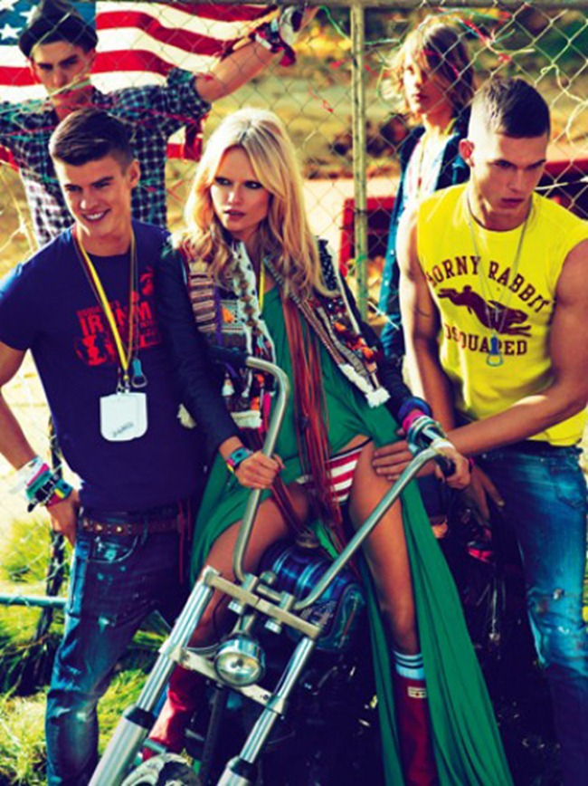 CAMPAIGN- Natasha Poly, Dimitry Tanner, Paolo Anchisi, Matt Woodhouse & Ton Heukels for DSquared2 by Mert & Marcus. www.imageamplified.com, Image Amplified4