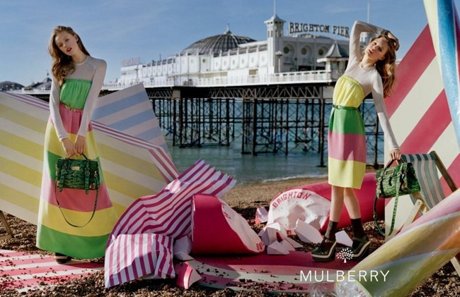 CAMPAIGN- Lindsey Wixson & Frida Gustavsson for Mulberry Spring 2012 by Tim Walker. Edward Enninful, www.imageamplified.com, Image Amplified5