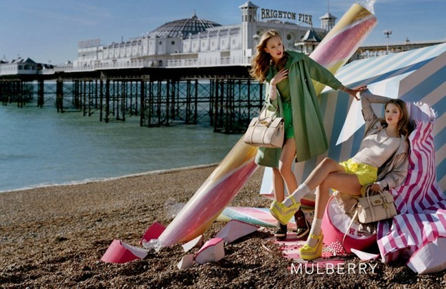 CAMPAIGN- Lindsey Wixson & Frida Gustavsson for Mulberry Spring 2012 by Tim Walker. Edward Enninful, www.imageamplified.com, Image Amplified2