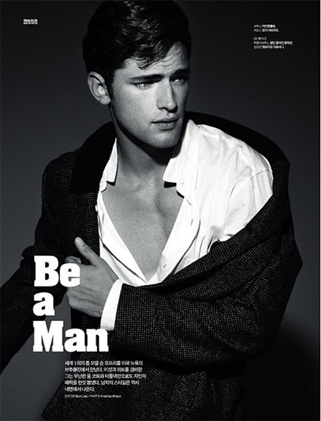 L'OFFICIEL HOMMES- Sean O'Pry in Be A Man by Kristiina Wilson. www.imageamplified.com, Image Amplified1