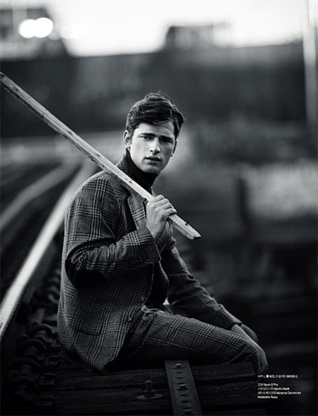L'OFFICIEL HOMMES- Sean O'Pry in Be A Man by Kristiina Wilson. www.imageamplified.com, Image Amplified8