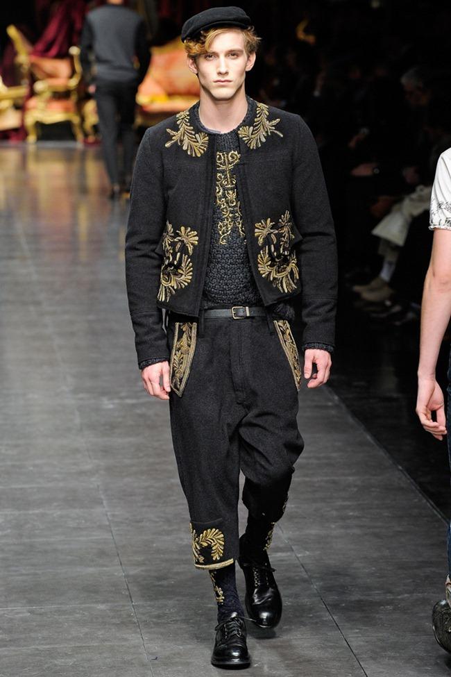 MILAN FASHION WEEK- Dolce & Gabbana Men's Fall 2012. www.imageamplified.com, Image Amplified0 (1)