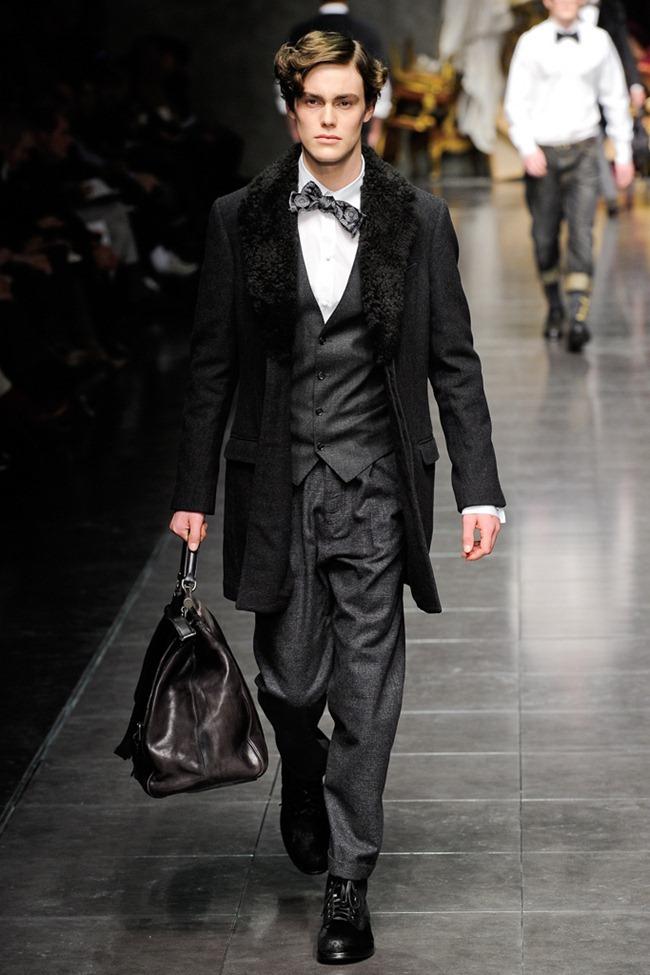 MILAN FASHION WEEK- Dolce & Gabbana Men's Fall 2012. www.imageamplified.com, Image Amplified0 (2)