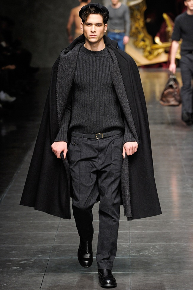 MILAN FASHION WEEK- Dolce & Gabbana Men's Fall 2012. www.imageamplified.com, Image Amplified1 (3)