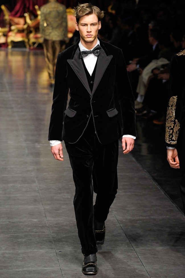 MILAN FASHION WEEK- Dolce & Gabbana Men's Fall 2012. www.imageamplified.com, Image Amplified1 (5)