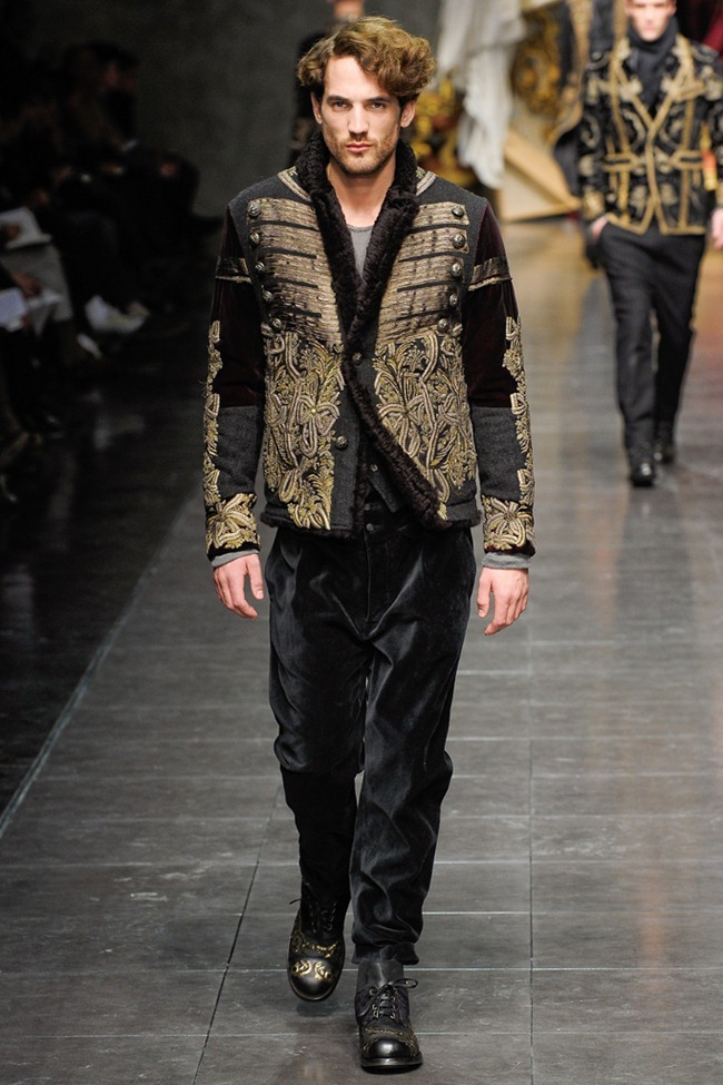 MILAN FASHION WEEK- Dolce & Gabbana Men's Fall 2012. www.imageamplified.com, Image Amplified1 (6)