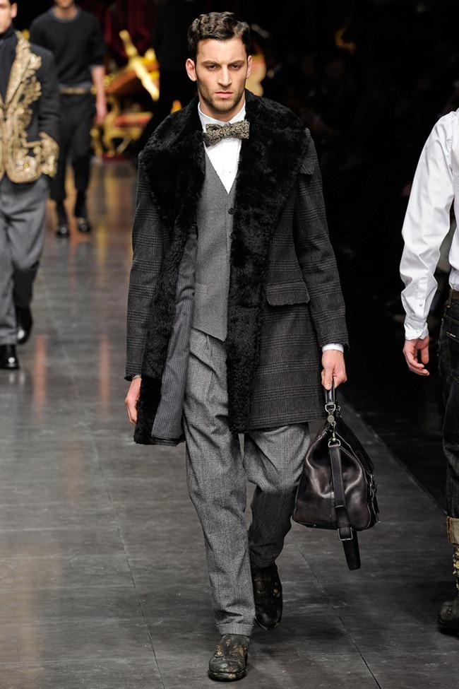 MILAN FASHION WEEK- Dolce & Gabbana Men's Fall 2012. www.imageamplified.com, Image Amplified2 (2)
